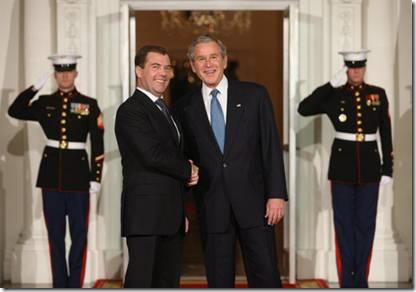 Bush-Medvedev